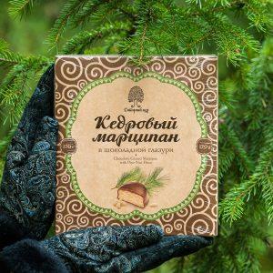 Кедровый марципан 170 грамм город Томск