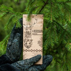 Сувенирный Шоколад с кедровым орехом Моя Сибирь 100 гр
