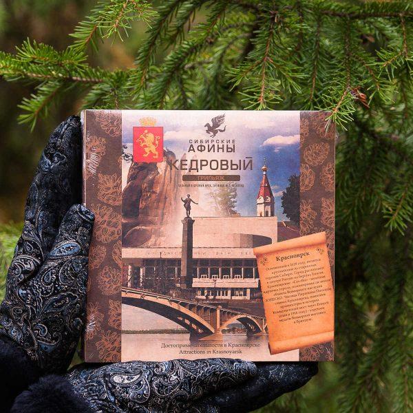 Кедровый грильяж Сибирские Афины Достопримечательности в Красноярске