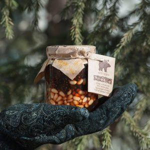 jam from pine cones with pine nuts 200 ml
