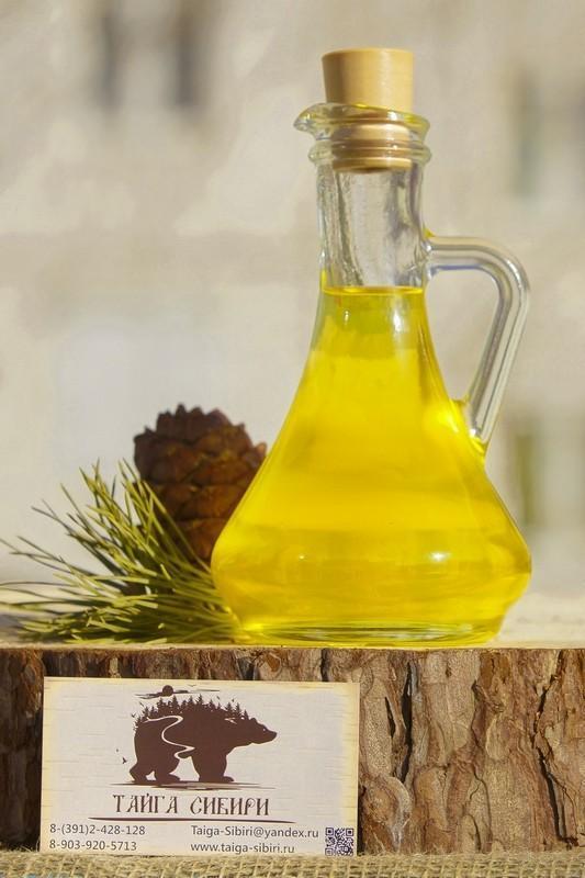 всё своё - сыродавленное кедровое масло