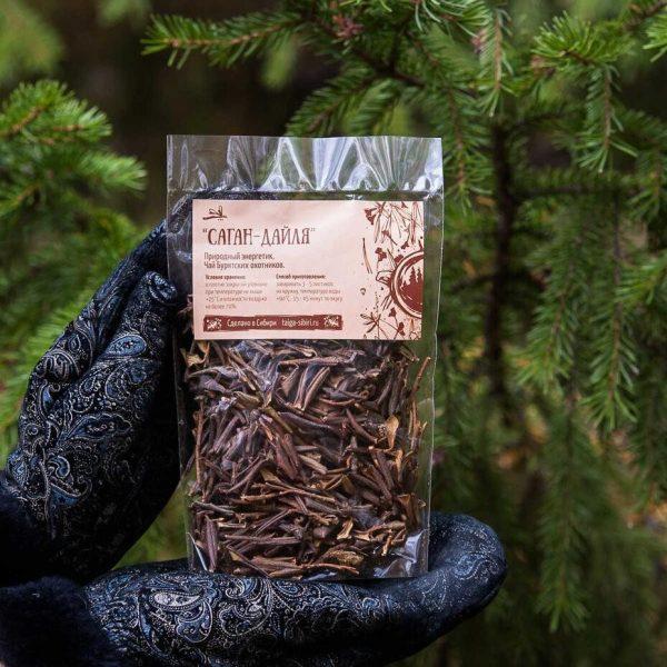 Добавка к чаю Саган Дайля 25 грамм Тайга Сибири