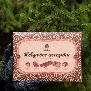 Набор конфет Кедровое ассорти Сибирский Кедр Томск