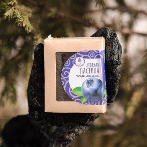 Ягодная пастила черничная Сибирский кедр