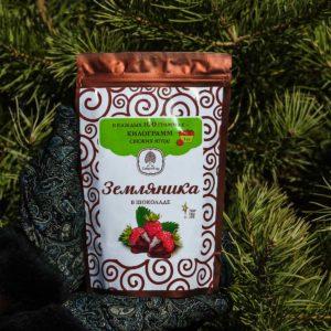«Земляника» в шоколаде