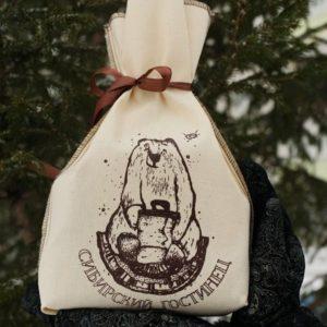Мешок подарочный «Сибирский гостинец»