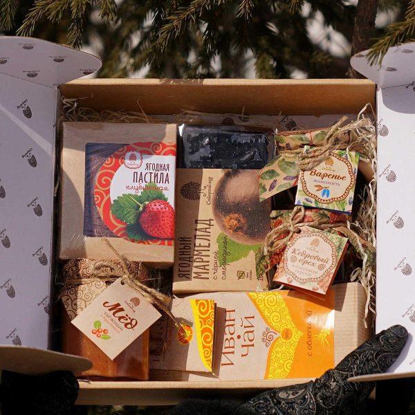 Подарочный набор «Сибирская ягода»