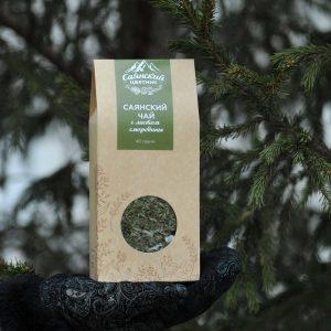 Чай Саянский с листом смородины