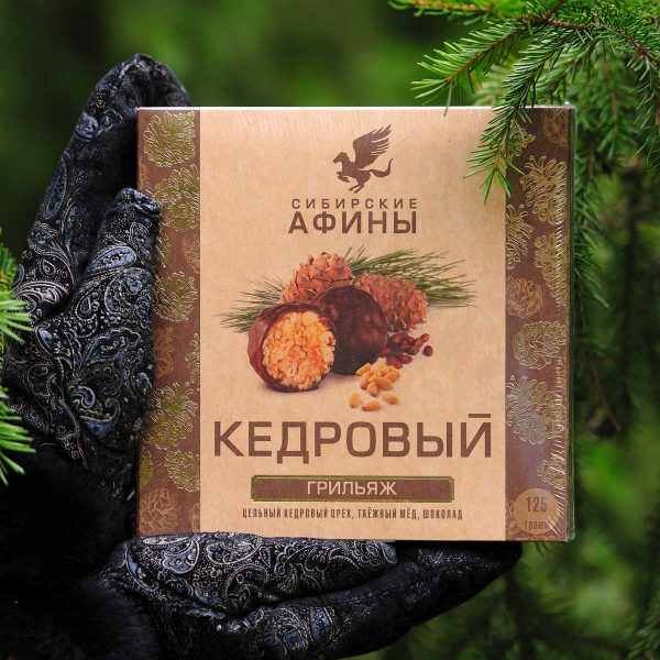 Кедровый грильяж Сибирские Афины