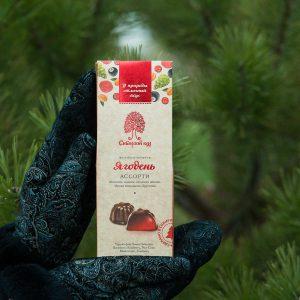 Ягодень Сибирский Кедр ассорти облепиха малина сосновая шишка чёрная смородина брусника