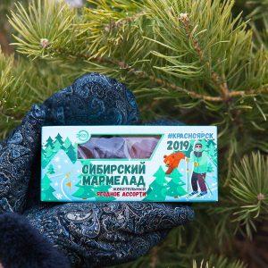 Сибирский мармелад «Ягодное ассорти»