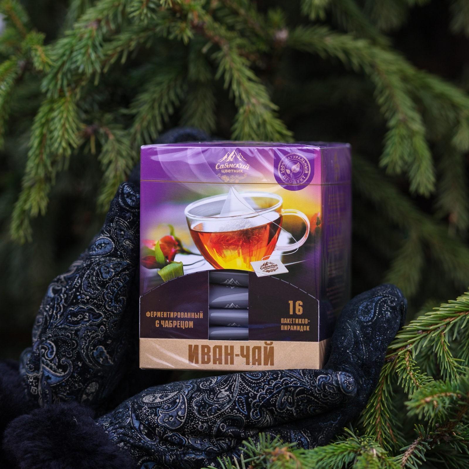 Иван - чай пакетированный с чабрецом