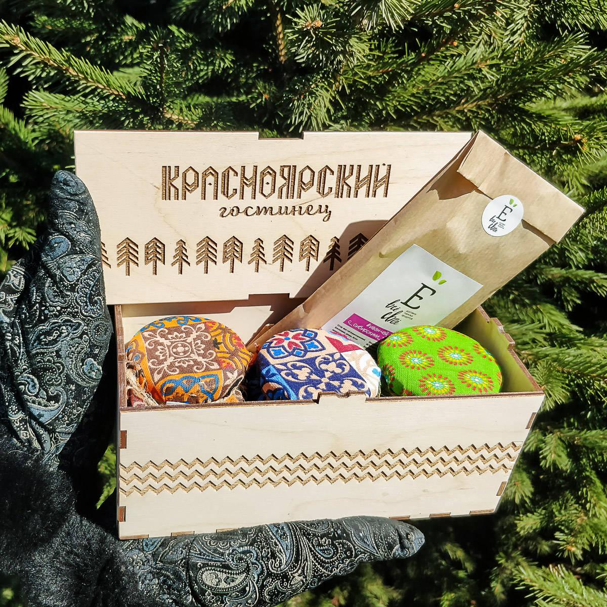 Подарочный набор  «Красноярский гостинец»