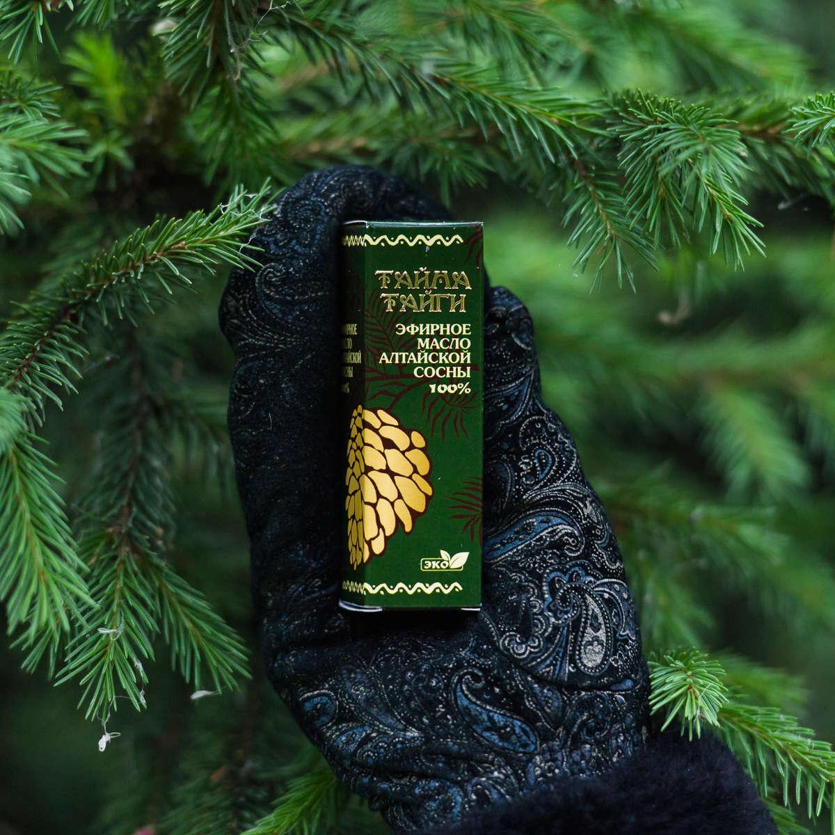 Эфирное масло Алтайскоой сосны 20 мл