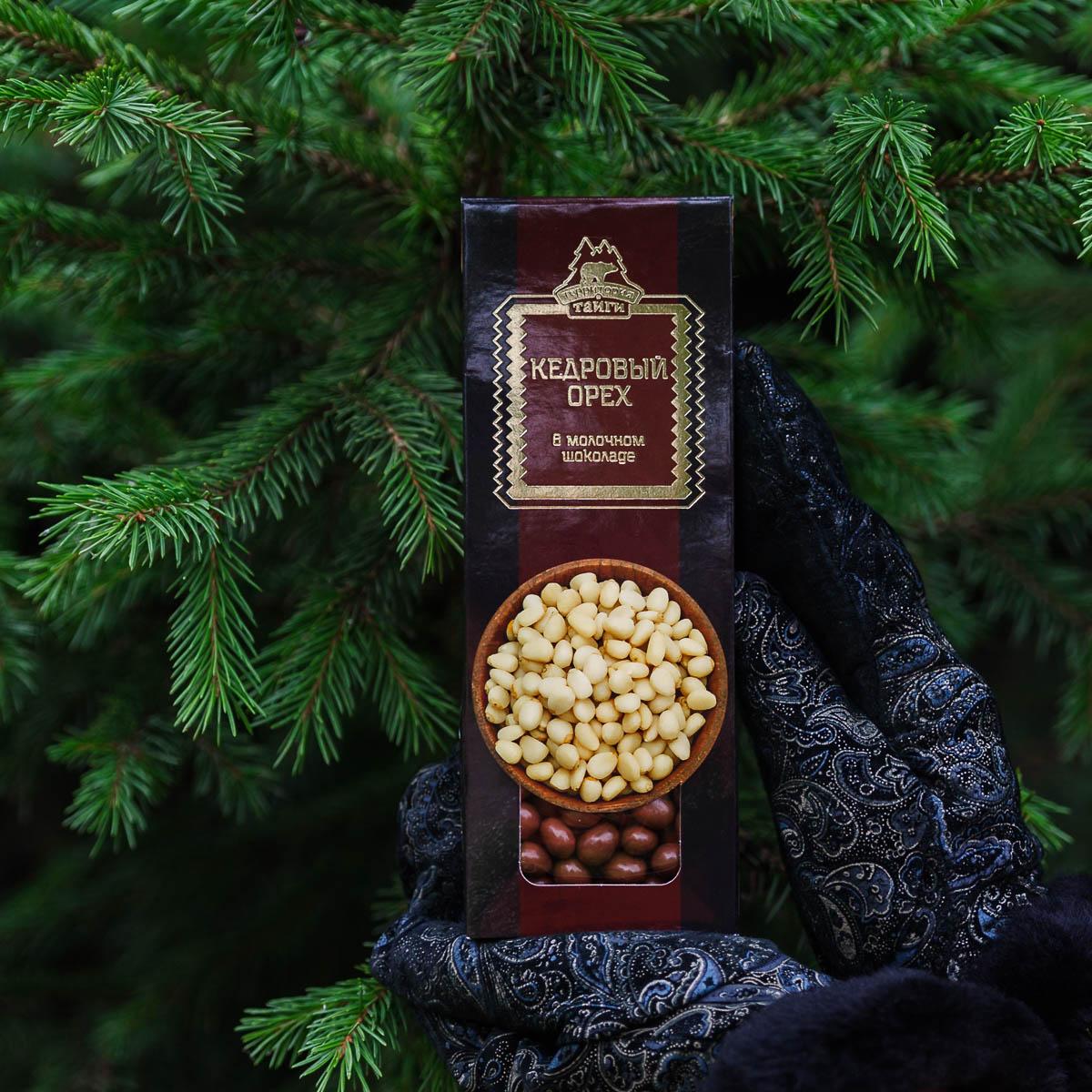 Кедровый орех в молочном шоколаде 100 гр